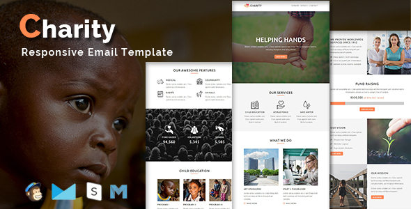 corp - responsive email template (newsletters) Corp – Responsive Email Template (Newsletters) charity