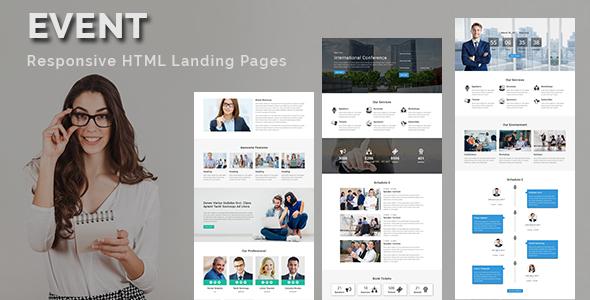 charity - multipurpose responsive html landing page (nonprofit) Charity – Multipurpose Responsive HTML Landing Page (Nonprofit) event lp