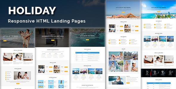 charity - multipurpose responsive html landing page (nonprofit) Charity – Multipurpose Responsive HTML Landing Page (Nonprofit) holiday lp