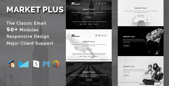 AMAZE - Multipurpose Responsive Email Template With Stamp Ready Builder Access - 2