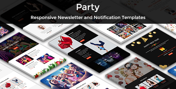 corp - responsive email template (newsletters) Corp – Responsive Email Template (Newsletters) party