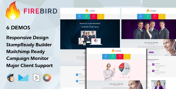 KEY - Multipurpose Responsive Email Template With Stamp Ready Builder Access - 4
