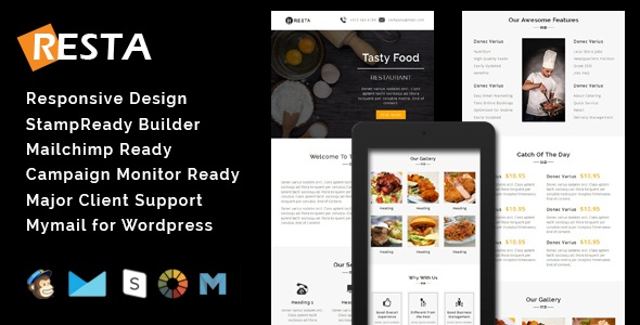 RIO - Multipurpose Responsive Email Template With Stamp Ready Builder Access - 4