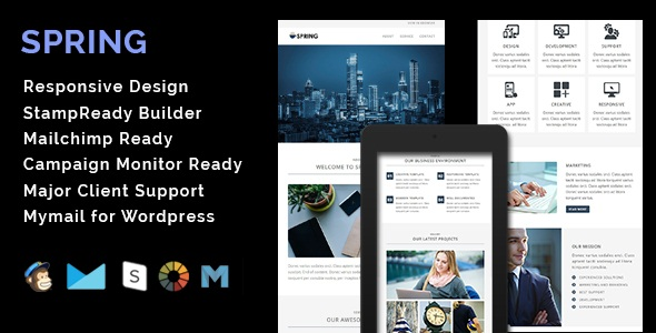 HOLIDAY - Responsive Email Template With Stamp Ready Builder Access - 3